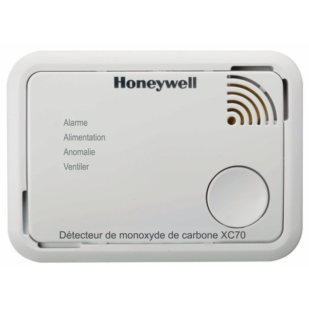 d tecteur de monoxyde de carbone xc70 honeywell bricozor. Black Bedroom Furniture Sets. Home Design Ideas