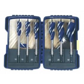 Coffret de 6 mèches à bois Blue Groove 6X IRWIN