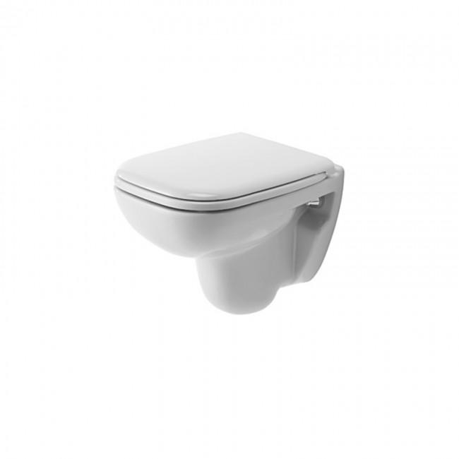 Cuvette wc suspendue céramique - fond creux - D Code Compact DURAVIT