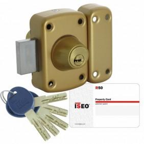 Verrou ISR50 haute sécurité à cylindre double ISEO