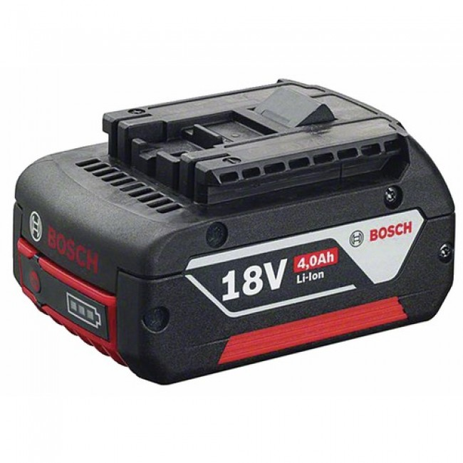 2 batteries 18V 4,0Ah lithium-ion