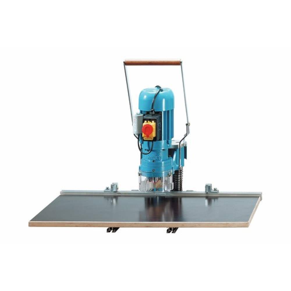 machine blue