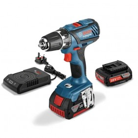 Perceuse-visseuse 18V GSR 18-2 LI+pack batterie à induction offert BOSCH