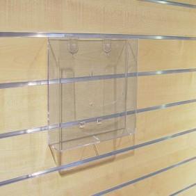 Porte-dépliants pour panneaux rainurés BOHNACKER