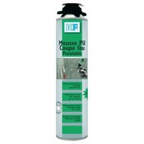 Mousse polyuréthane résistante au feu pistolable 750 ml - 6003 KF