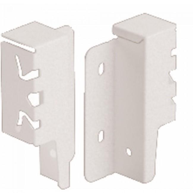 Raccords de paroi arrière pour tiroir ArciTech-H94 mm-blanc HETTICH