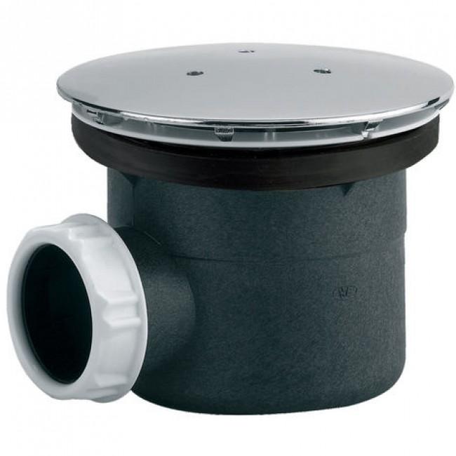 Bonde de douche pour receveur - diamètre 60 ou 90mm - capot métal VALENTIN