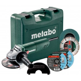 Meuleuse d'angle 125mm 750W + accessoires METABO