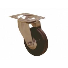 Roulette pivotante - blocage - platine - charges légères - Port Roll GUITEL