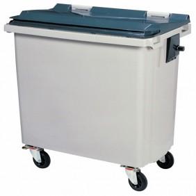 Conteneur - 4 roues - capacité 660 litres - latéral ROSSIGNOL