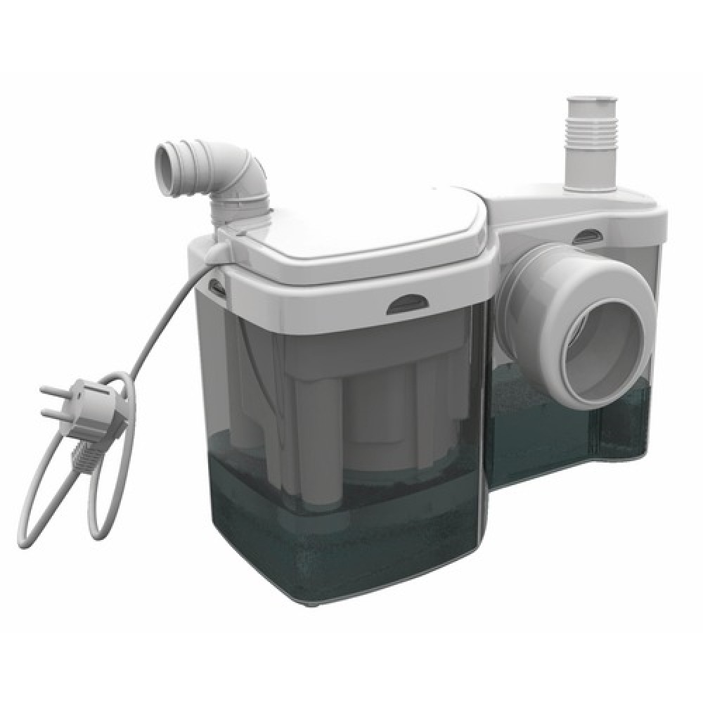 Broyeur Adaptable Raccordement Wc Et Lave Mains W12p