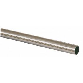Barre de penderie ronde - acier inoxydable DUVAL