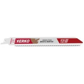 Lame de scie sabre - plaquettes carbures - K16 x-treme ERKO