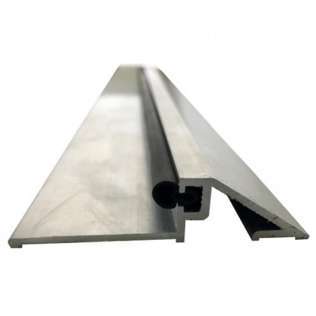 Seuil - aluminium brut - pour bâtiments publics - 4 m Quincadécor