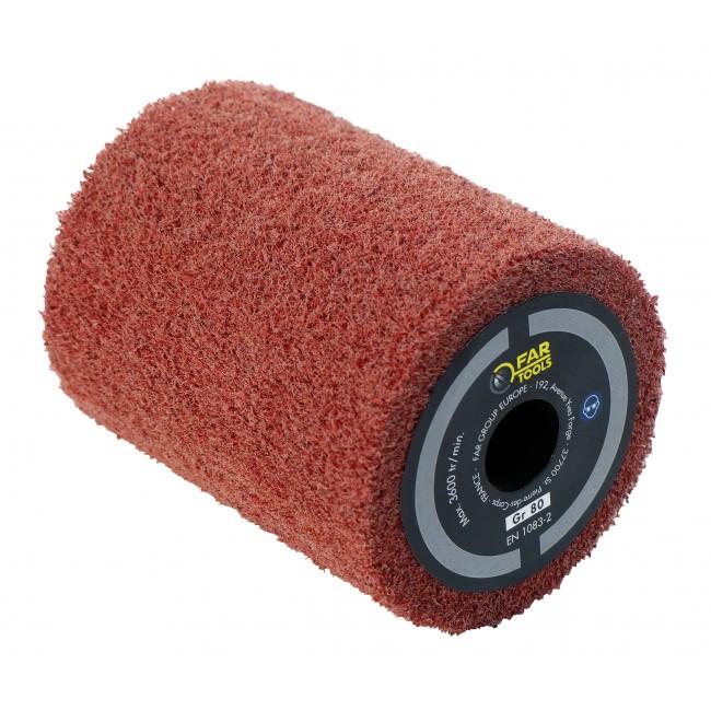 Brosse fibre synthétique pour rénovateur Rex 80 - 80x100 mm FARTOOLS
