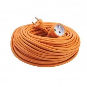 Rallonge électrique jardin - orange - HO5VV-F DEBFLEX
