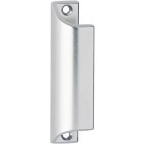 Poignée de tirage profilée pour porte-fenêtre - aluminium HOPPE