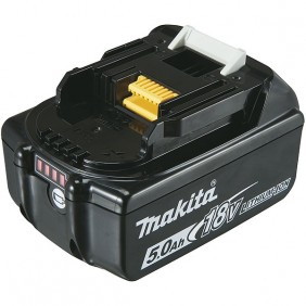 Batterie lithium-ion 18V-5 Ah-BL 1850 MAKITA