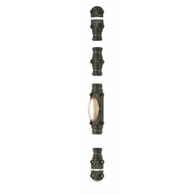 Crémone en applique en fonte pour menuiserie bois - RY 59-01 JARDINIER MASSARD