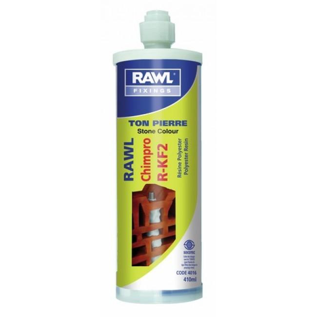 Cartouche de scellement chimique - 410 ml - Chimpro R-KF2 RAWL