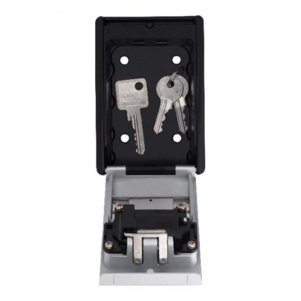 boîte à clés à ouverture par code mécanique - 4 digits abus   bricozor