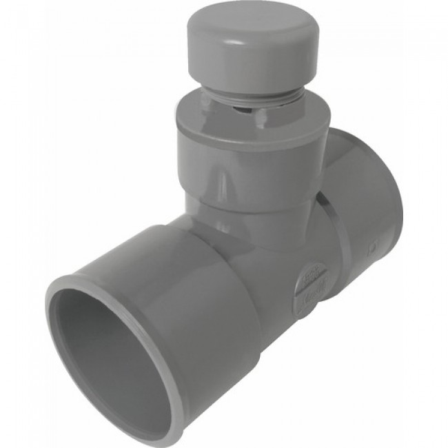 Té anti-vide en pvc - diamètre 40 mm NICOLL