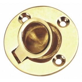 Poignée ronde marine en laiton BRICOZOR