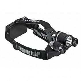 Lampe frontale - rechargeable - tête pivotante - 3 LED BRENNENSTUHL