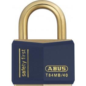 Cadenas à clé - tout laiton – largeur 40 mm - Nautic T84MB/40 ABUS