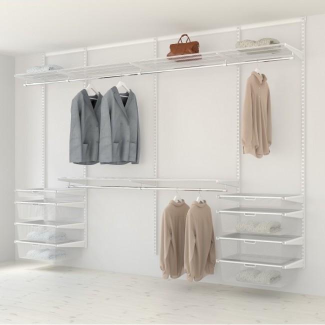 Kit dressing Classique - L300xP40 cm - blanc ELFA