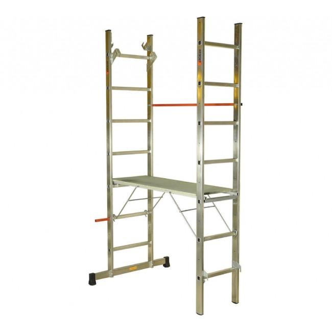 Echafaudage multifonction 6 en 1 HEXALUX 90 - hauteur de travail 3m60 ESCALUX