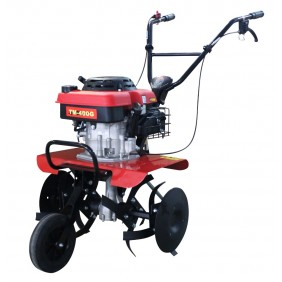 Motobineuse thermique Pro 40cm 139cc OHV transmission par engrenage - TM400G CAMPEON