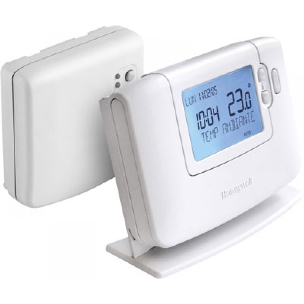 thermostat programmable sans fil cm927fr honeywell bricozor. Black Bedroom Furniture Sets. Home Design Ideas
