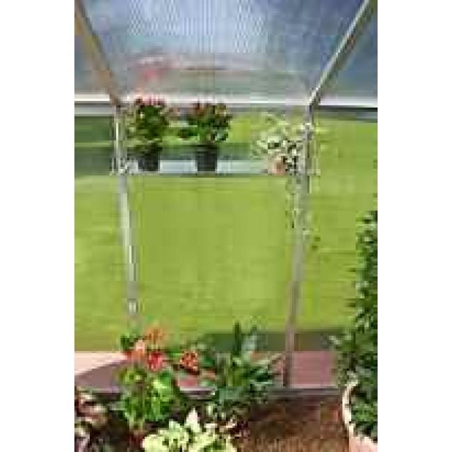 Tablette de stockage aluminium 70 x 26 cm HB 2 pour serre de jardin EINHELL