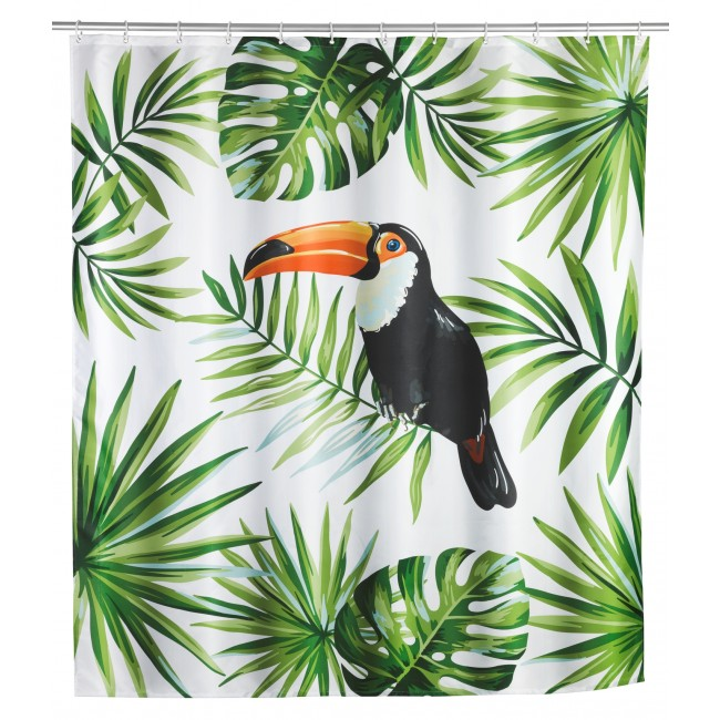 Rideau de douche - Toucan - 180 x 200 cm WENKO