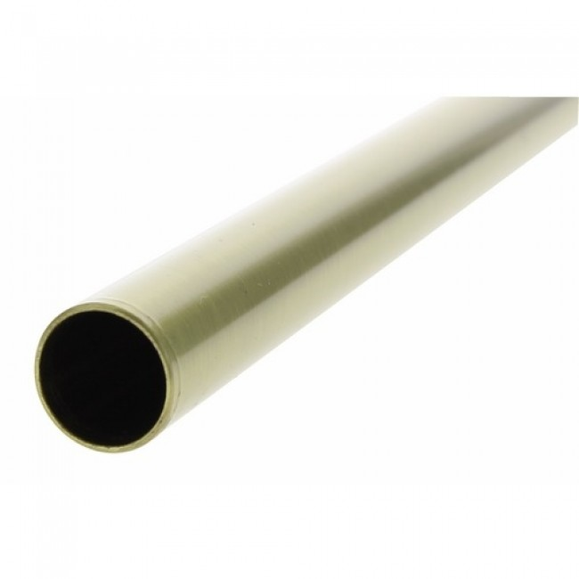 Tube en laiton vieux bronze 20mm pour main courante décorative