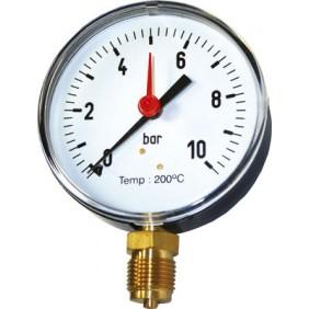 Manomètre à boîtier sec en acier - spécial vapeur DISTRILABO