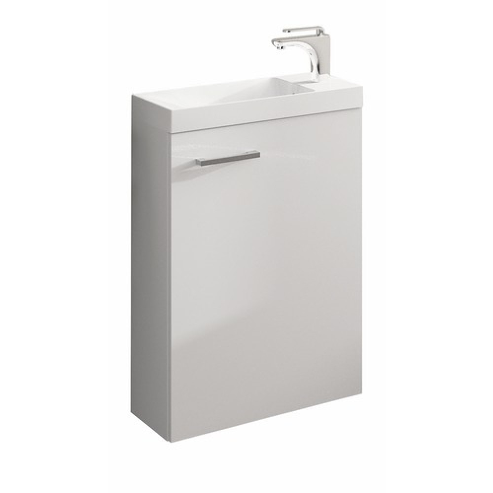 meuble lave mains suspendu blanc palerme 400x600 mm nova