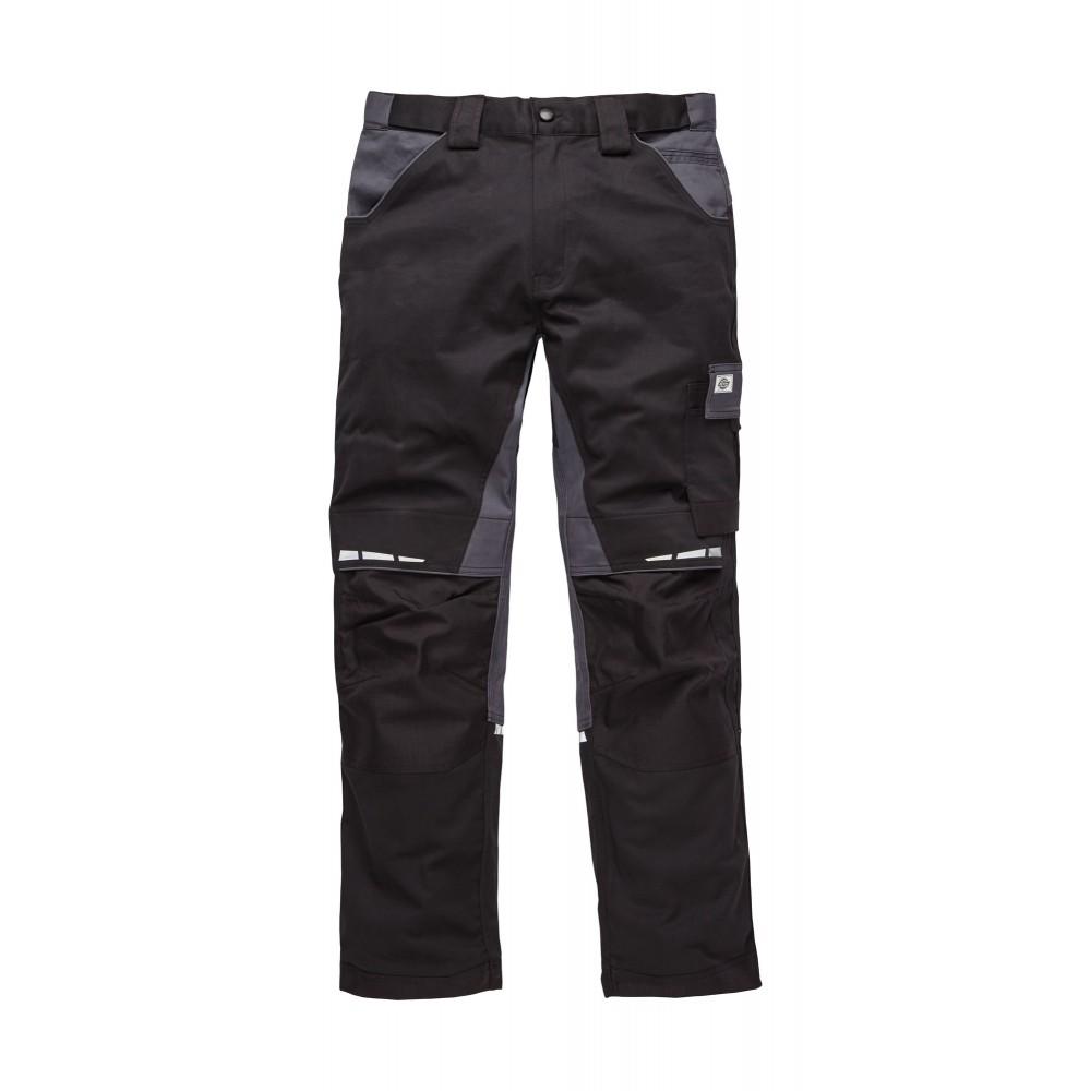 2667716de45e6 Pantalon de travail GDT Premium Noir Gris DICKIES   Bricozor