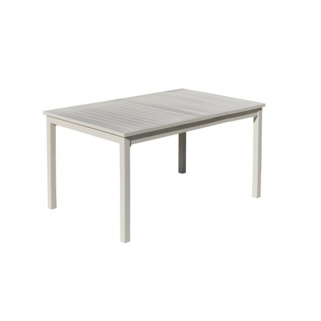 Table de jardin - extensible 170 à 220 cm - PALMA HEVEA