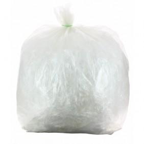 Sacs poubelle transparents 50 litres, 14 microns (x500) BRICOZOR