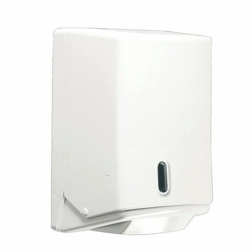 Distributeur d'essuie mains en bobine mini à dévidage central