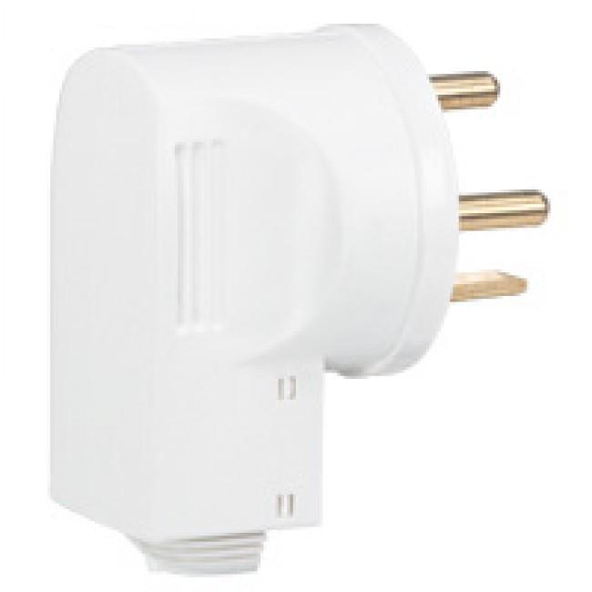 Fiche électrique 20A 3P+T avec serre-câbles - 055155 LEGRAND
