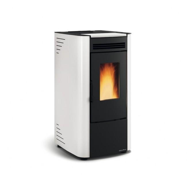 Poêle à granulés ventilé - Ketty - blanc ou noir - 6,5kw LA NORDICA EXTRAFLAME