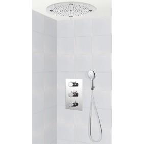 Colonne de douche encastrable plafond avec mitigeur AREZZO SARODIS