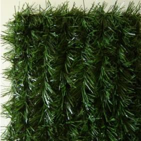 Haie artificielle brins vert foncé maillage carré + 12 attaches – LUX2R JET7GARDEN