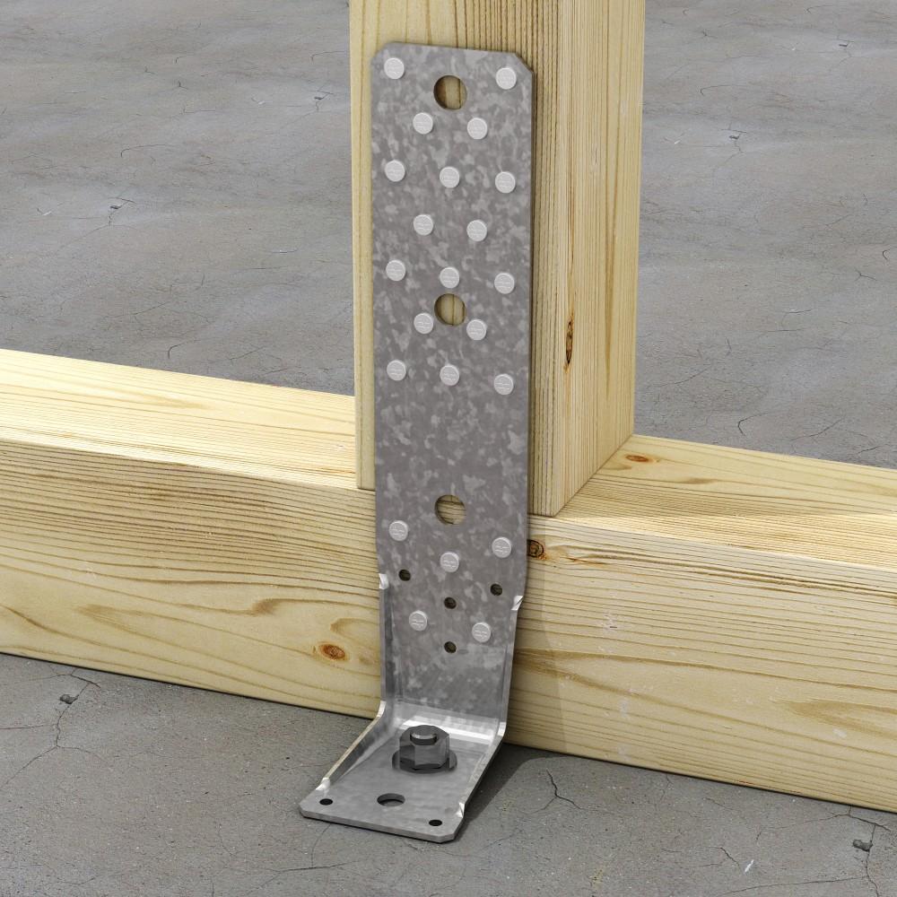 Équerre renforcée pour ossature bois - AKR SIMPSON Strong-Tie | Bricozor