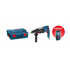 Perforateur burineur SDS Plus GBH 2-28 F + GLM 30 offert BOSCH