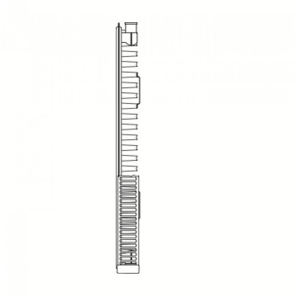 Radiateur chauffage central horizontal quattro 11 quinn - Marque de radiateur chauffage central ...