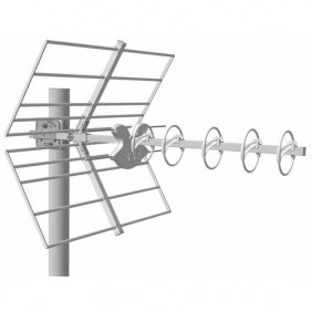 Antenne UHF - réception TV HD terrestre - Alpha 5 HD LTE + FRACARRO